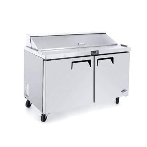 ATOSA Double Door Sandwich Prep Table Refrigerator