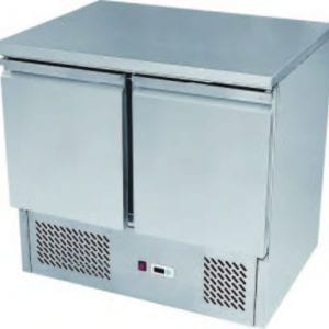 ATOSA ESL3831 Two Doors Pizzatable Marble Top Saladette