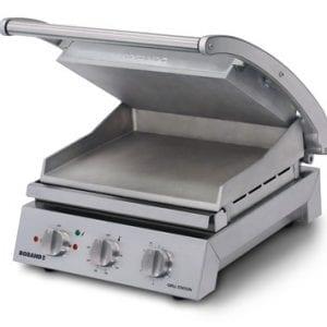 Roband GSA810S Roband Grill Station 8 slice, smooth plates, 13 Amp